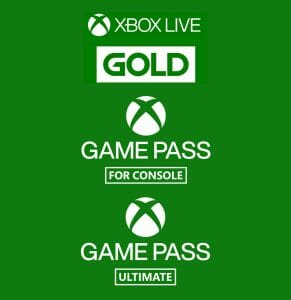Xbox Live Gold Game Pass Game Pass Ultimate