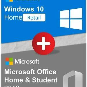 Bundle - Win10Home + OfficeHS2019