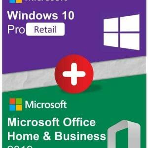 Bundle - Win10Pro + OfficeHB2019
