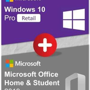 Bundle - Win10Pro + OfficeHS2019