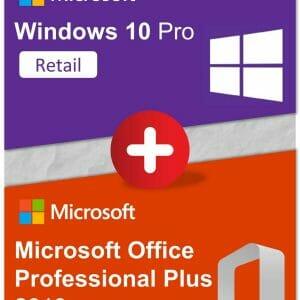 Bundle - Win10Pro + OfficeProPlus2019